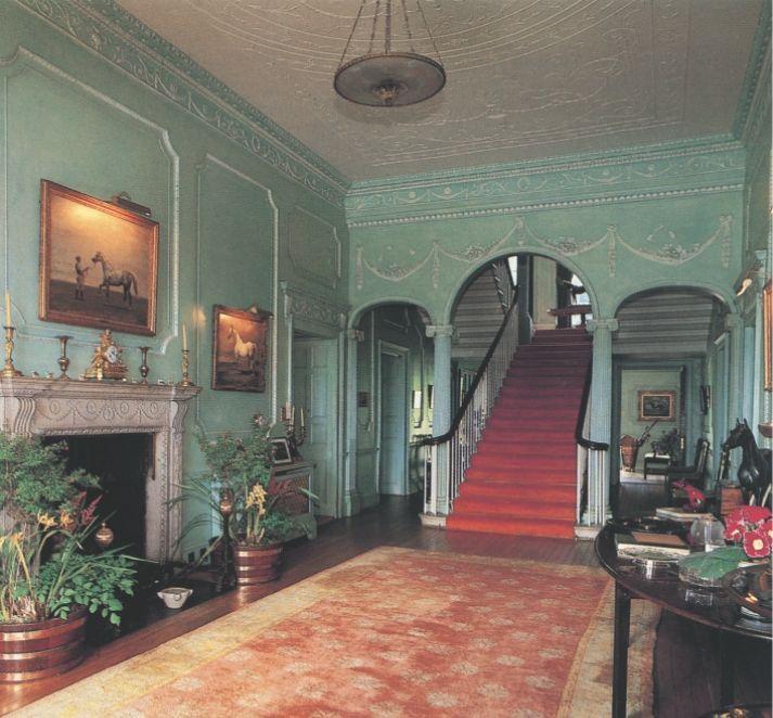 The hallway at Mount Juliet Estate