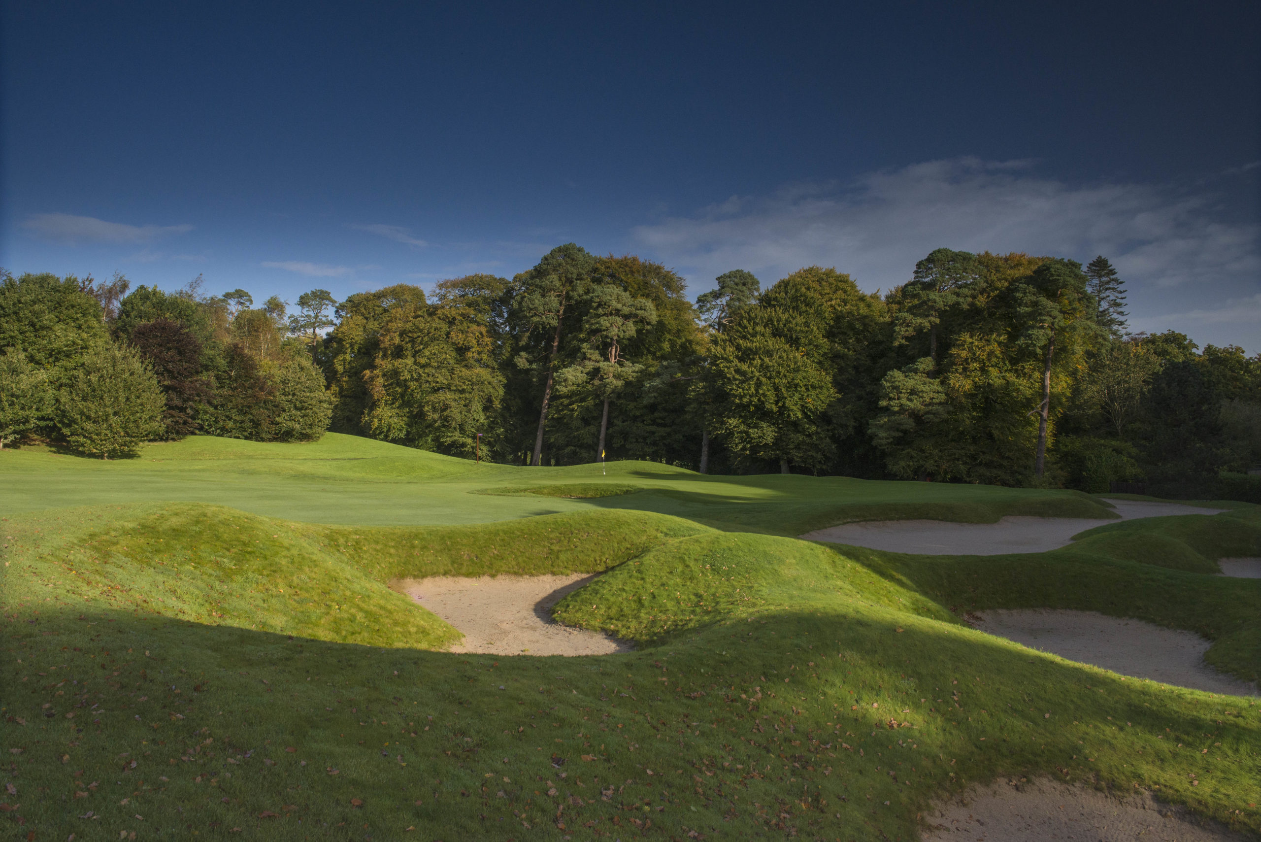 Mount Juliet 10 approach bunkers 8982