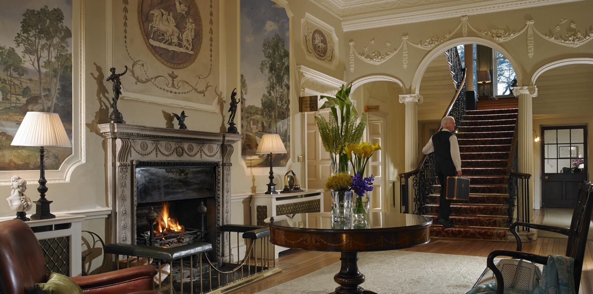Lobby of Manor House