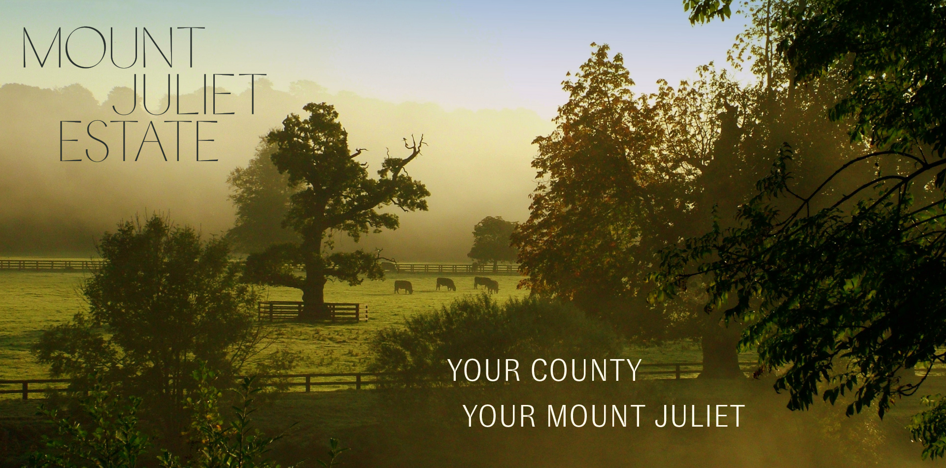 Overnight Escape at Mount Juliet Estate From €99pps